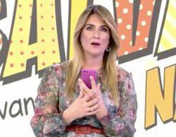 David Valldeperas, director de 'Sálvame', olvida que Carlota Corredera está trabajando y la llama en directo