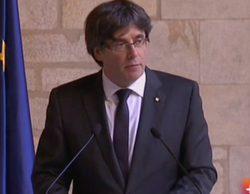 Carles Puigdemont descarta convocar elecciones: Así se ha vivido la comparecencia en televisión