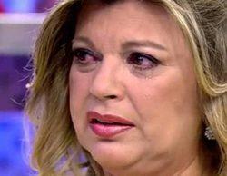 Terelu Campos, derrumbada y a punto de abandonar 'Sálvame' por un vídeo criticando su trabajo