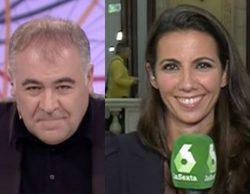 """Ana Pastor corta a Ferreras con su famosa frase: """"Aquí las preguntas las hago yo"""""""