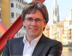 Las cámaras de 'laSexta noticias' pillan a Puigdemont en un restaurante de Girona y el dueño los echa