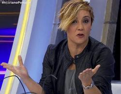 """Cristina Pardo y su pulla en 'El hormiguero': """"Es importante que la gente sepa que no nos pagan por horas"""""""