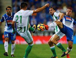El partido entre el Espanyol y el Real Betis lidera en Gol (4,6%) y 'La noche en 24h' destaca con un 3%