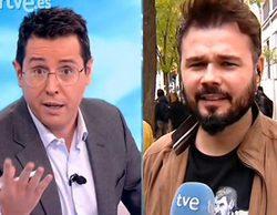 """La tensa entrevista entre Sergio Martín y Gabriel Rufián: """"Da la sensación de que nos trata como a imbéciles"""""""