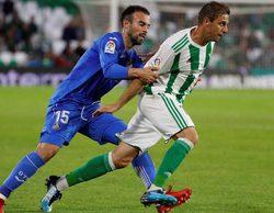 El partido de la Liga Española entre el Betis y el Getafe lidera con un 4,7% en Gol