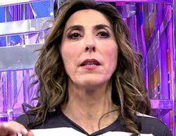 """Paz Padilla abandona el plató de 'Sálvame' tras una gran bronca con Mila Ximénez: """"Estoy harta de tonterías"""""""