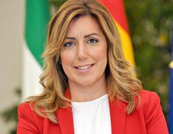 """Las redes critican el tweet de Susana Díaz para despedir a Chiquito de la Calzada: """"No tiene vergüenza"""""""