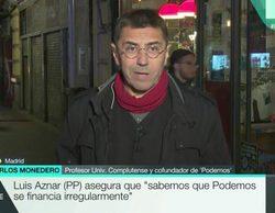 """Monedero corta la entrevista con Mendizábal antes de tiempo: """"No me parece serio lo que estás haciendo"""""""