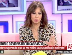 Ana Rosa Quintana critica el polémico discurso de Antonio David contra la ley de violencia de género