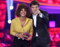 'Tu cara me suena': Lucía Gil gana la octava gala con su imitación de Whitney Houston