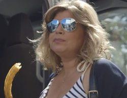 Kiko Hernández pilla en 'Sálvame' a Terelu Campos buscando churrerías en Madrid desde su móvil