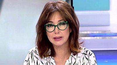 Ana Rosa Quintana le envía un emotivo mensaje en directo a Susanna Griso por la muerte de su madre