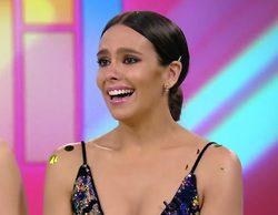 Cristina Pedroche se emociona y rompe a llorar tras llegar a los 1.000 programas en 'Zapeando'