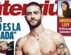 """Pelayo Díaz se desnuda en la portada de Interviú: """"Perdí la virginidad con 19 años con una chica"""""""