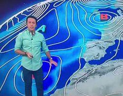 El hombre del tiempo de TVE se olvida de que las Islas Canarias pertenecen a España