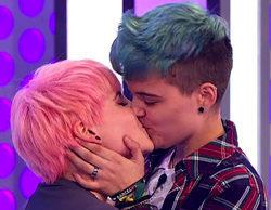 'OT 2017': Las redes aplauden la visibilización LGTB con el beso de Marina y su novio