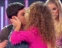 El beso entre Alfred y Amaia en la gala 5 de 'OT 2017' que no pudimos apreciar con claridad