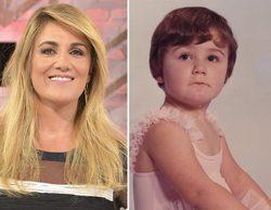 Carlota Corredera publica una tierna imagen de su infancia