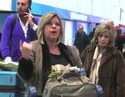 'Sálvame' muestra las primeras imágenes de 'Las Campos' tras aterrizar en Nueva York
