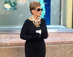 'Las Campos': María Teresa Campos conquista Nueva York caracterizada de Audrey Hepburn