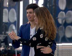 """'OT 2017': Alfred anima a Amaia a ducharse con él tras bailar juntos """"La Bella y la Bestia"""""""