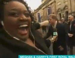 Una presentadora británica enloquece al entrevistar a Meghan Markle en su primera aparición pública
