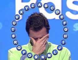 """Antonio, un concursante de 'Pasapalabra', rompe a llorar al estar en el concurso: """"Este es mi sueño"""""""