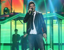 'OT 2017': Roi, favorito de la audiencia en la gala siete