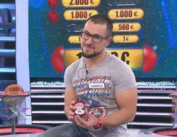 Un concursante de '¡Ahora caigo!' le pide matrimonio a su novia en pleno concurso