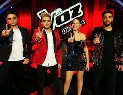 La semifinal de 'La Voz' lidera con un gran 15,7% frente a 'Tu cara me suena' que marca un buen 15,3%