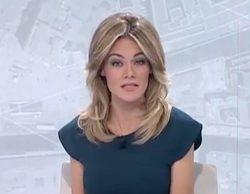 La presentadora de noticias de Telemadrid, Rocío Delgado, comete un error en directo que no pasa desapercibido