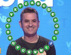 Antonio Ruiz logra ganar en 'Pasapalabra' un bote de 1.164.000 euros