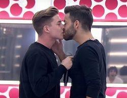 """Agoney, sobre el beso con Raoul en 'OT 2017': """"Se ensayó más de la cuenta"""""""