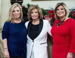 El día que FormulaTV merendó con las protagonistas de 'Las Campos' en casa de María Teresa