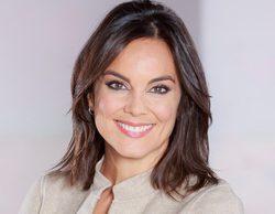 Mónica Carrillo, incapaz de contener la risa, en directo, tras escuchar el comentario de un niño