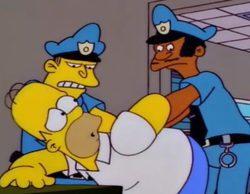 'Los Simpson': La Policia de Yorkshire del Sur usa un truco de la serie para atrapar criminales