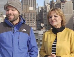 Almudena Ariza, corresponsal de TVE, se cuela en Telemadrid para ejercer de guía turística por Nueva York