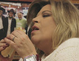 Terelu finge un orgasmo en un restaurante mientras come un perrito caliente en 'Las Campos'