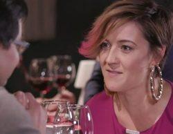 """Cristina Pardo saca su lado más choni en la parodia de 'First Dates' de 'Homo Zapping': """"Me pone al rojo vivo"""""""