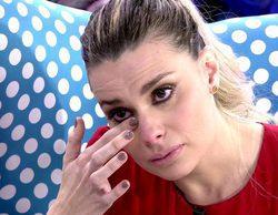 María Lapiedra se derrumba en 'Sálvame' y habla por primera vez de su trauma infantil