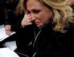 """Lydia Lozano rompe a llorar en el ensayo de las Campanadas: """"Como empiece, no voy a parar"""""""
