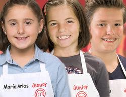 María Arias, Núria y Diego, eliminados en la tercera entrega de 'MasterChef Junior 5'