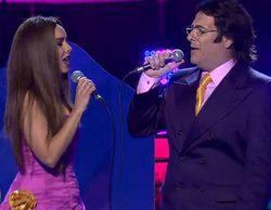 'Tu cara me suena': Chenoa y Carlos Latre sorprenden con su hilarante imitación de Romina y Al Bano