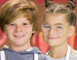 Mara y Fernando, eliminados de la cuarta entrega de 'MasterChef Junior 5'