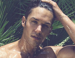 Alberto Santana ('Mujeres y hombres y viceversa'), protagonista de un desnudo integral en Instagram