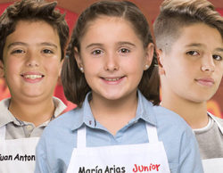 Juan Antonio, María Arias y Héctor, últimos expulsados de 'MasterChef Junior 5' antes de la final