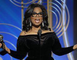 """El emotivo discurso de Oprah Winfrey que enmudeció en los Globos de Oro 2018: """"Un nuevo día está al caer"""""""