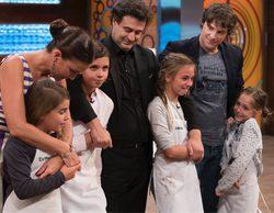 """La semifinal de 'MasterChef Junior 5' marca un buen 13,4% pero lidera  """"Interstellar"""" con un gran 16,6%"""