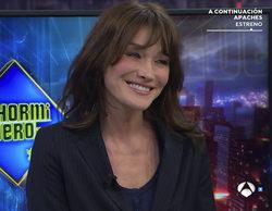 """Carla Bruni, sobre Sarkozy en 'El hormiguero': """"No sabía que el flechazo podía existir"""""""