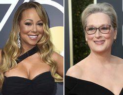 Mariah Carey se disculpa con Meryl Streep tras robarle el asiento en los Globos de Oro 2018